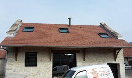 Rénovation et réfection de toitures chez les particuliers à Crémieu